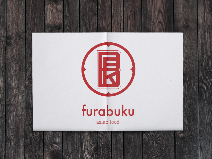"""mock up con ejemplo de la marca """"Furabuku"""""""